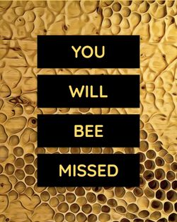 Use You will bee missed