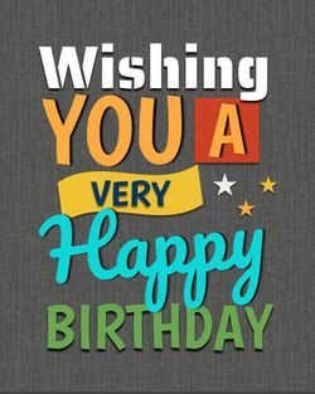 Use wishing you a very happy birthday