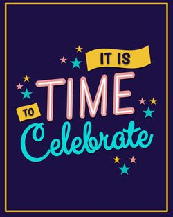 Use It is time to celebrate