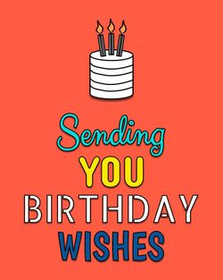 Use sending you birthday wishes