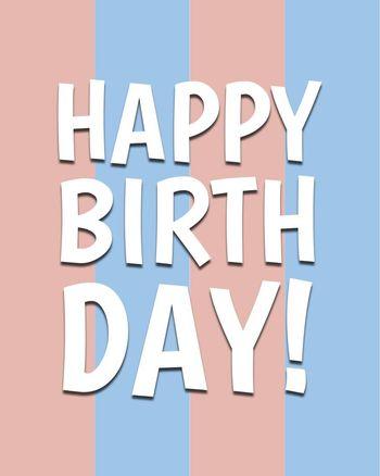 Use happy birthday