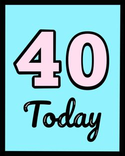 Use 40 today