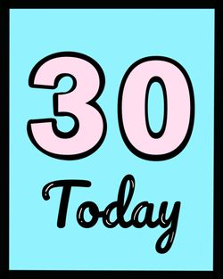 Use 30 today